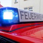 Feuerwehreinsatz in Zingst