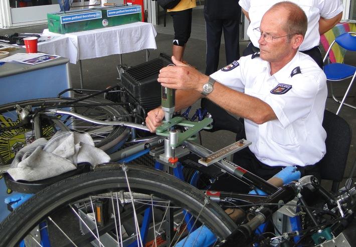 Fahrradcodierung Polizei Stralsund