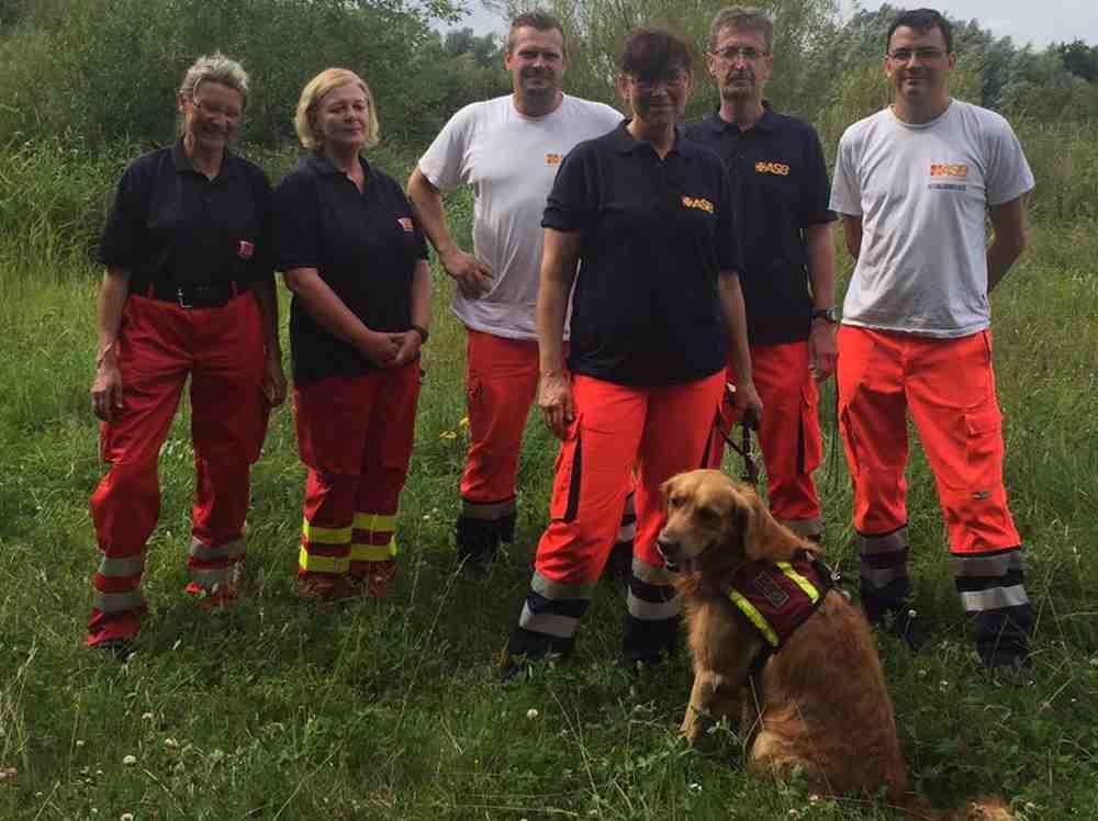 Rettungshund Cooper, Foto: PI Stralsund